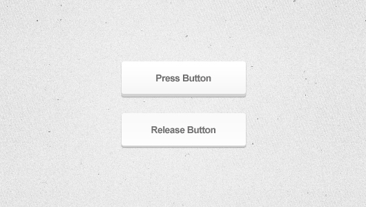 3d White Web Button (Psd)