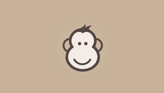 Abstract Mokey Icon