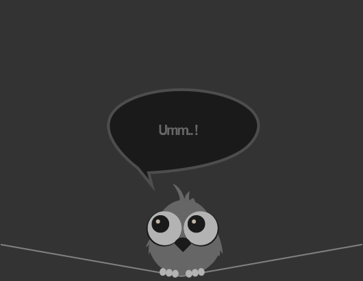 Little Cute Vector Owl (.Ai)