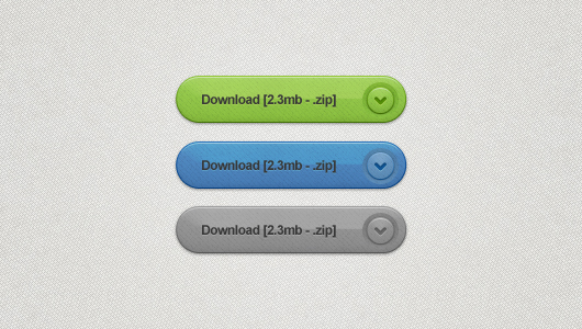 Glossy Download Buttons (Psd)