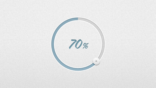 Circular Loading Bar (Psd)