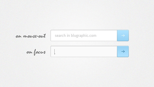 Website Search Field (PSD)