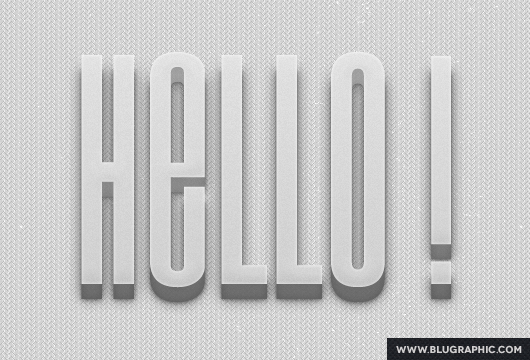 3D Photoshop Text Effect V1