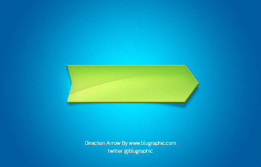 Fresh Direction Arrow Button (Psd)