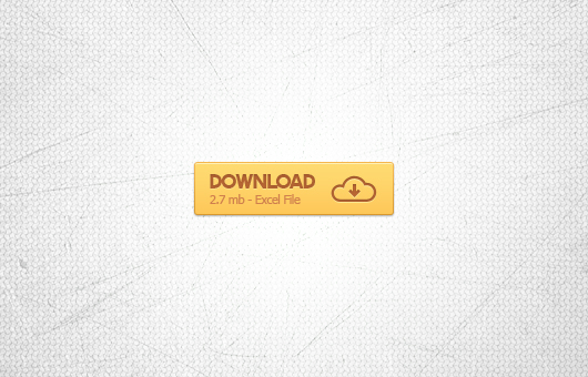 Orange Download Button (Psd)