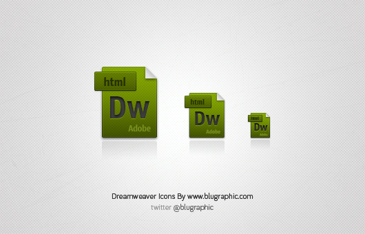 Dreamweaver Extension Icons (Vector / Psd)