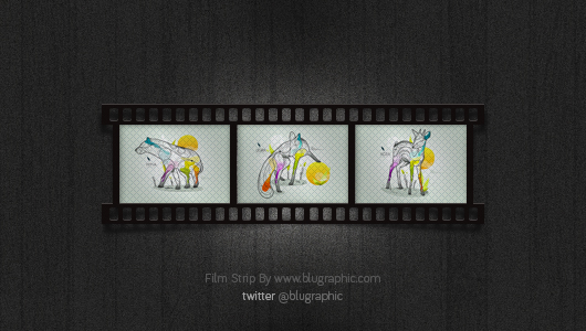 Film Strip (Psd)