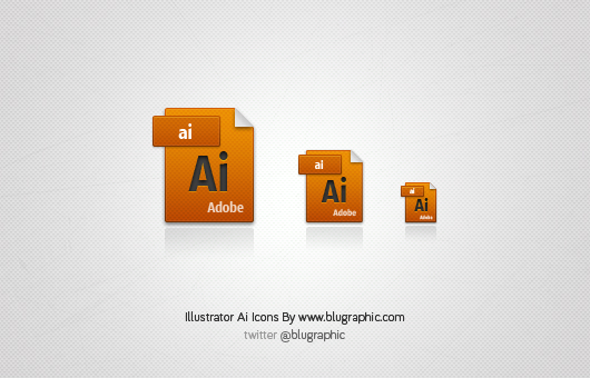 Illustrator Ai Icons (Vector / Psd)
