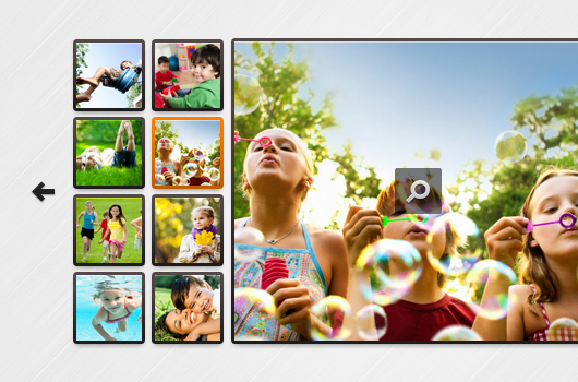 Fresh Image Gallery (Psd)