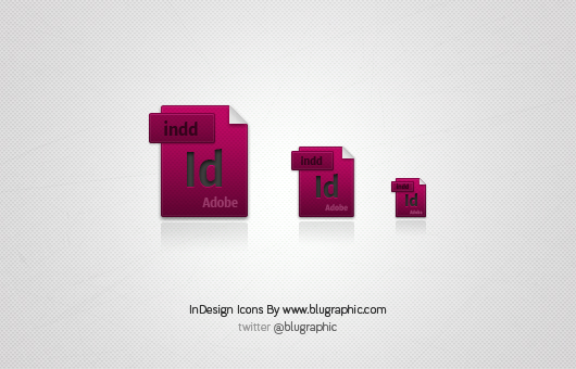 InDesign Extension Icons (Vector / Psd)