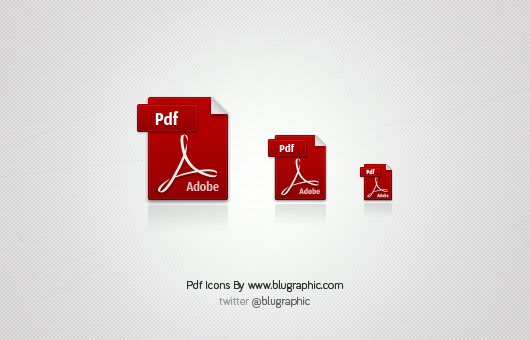 Pdf Icons (Psd)