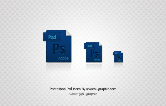 Photoshop Psd Icons (Vector / Psd)