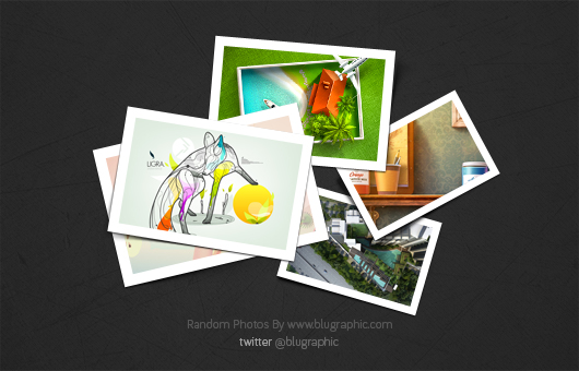 Random Top View Photo Collection (Psd)