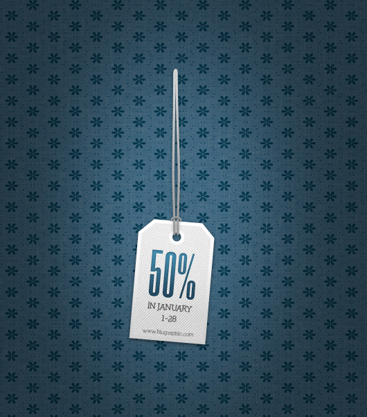 Discount Sale Tag (Psd)