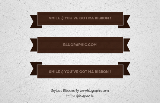 Stylized Ribbon (Free Psd)