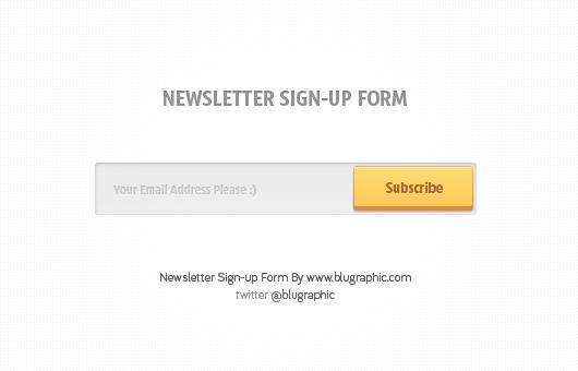Subscribe Form V1
