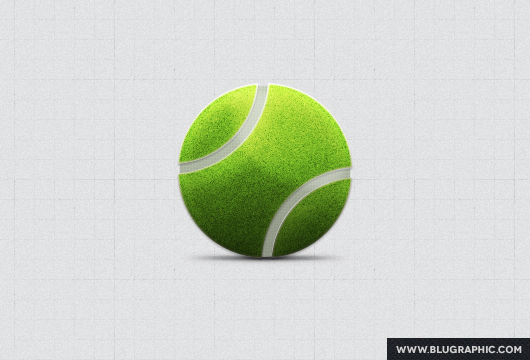 Tennis Ball (Psd / Vector)