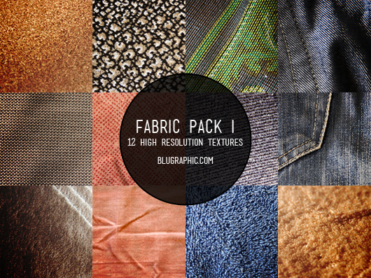 12 Free Fabric Textures (Pack I)