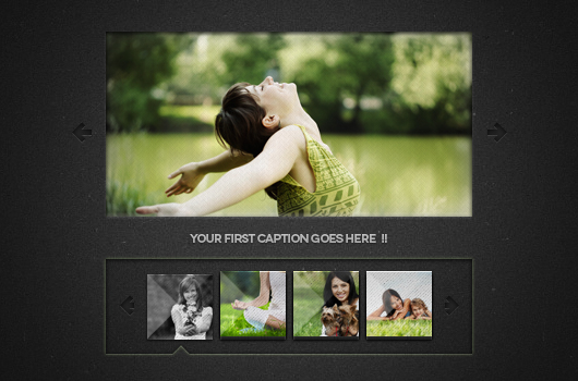 Mini Image Slider (Psd)
