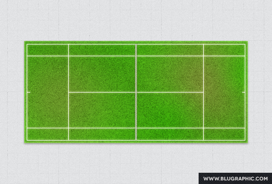 Free Psd Tennis Court