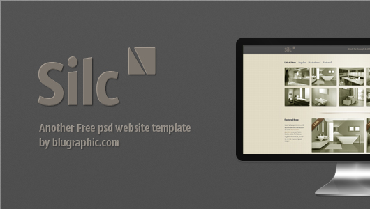 Silc Website Template (Psd)
