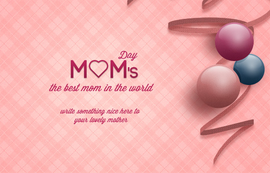 Mother's Day Card (Psd)