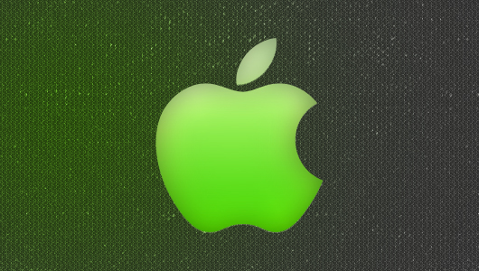 Apple Photoshop logo