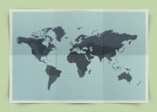Map Template Psd
