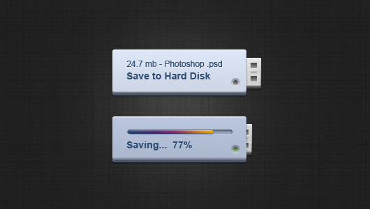 Save Button (Psd)