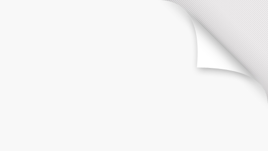 page peel psd - white