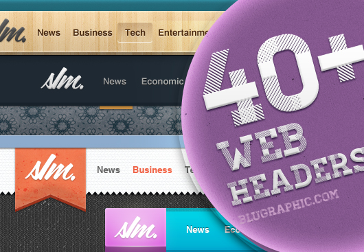 Web Headers (Psd)