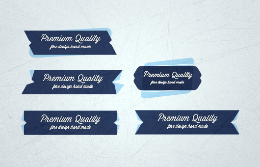 Tag Badges Psd
