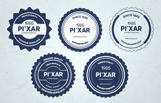 Badge Templates (Psd)