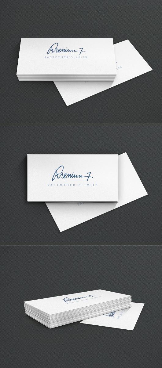 3d business cards psd