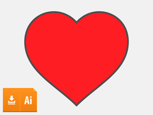 15 Vector Hearts (Ai, Eps)