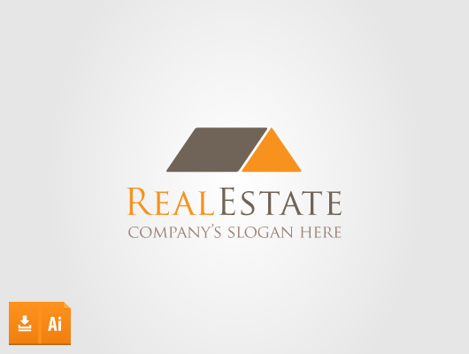 Brick Real Estate Logo