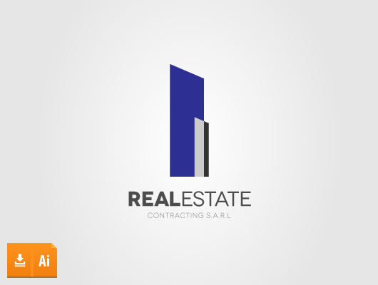 Tower Real Estate Vector Logo