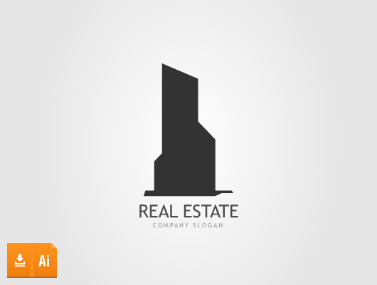 Real Estate Tower Logo
