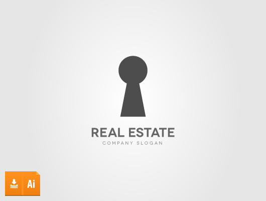 Key Real Estate Logo (Vector)