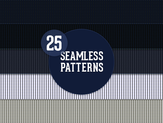 25 Seamless Web Patterns (JPEG + .PAT)