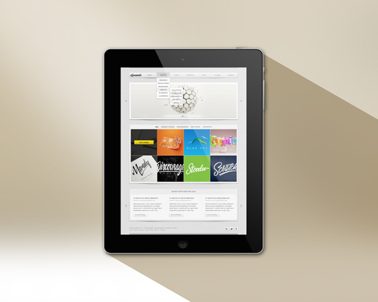 Ipad Mockup Template Psd