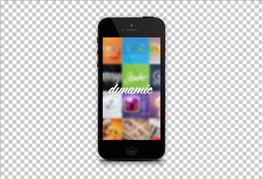 Black Iphone 5 Mockup Template (Psd) Iphone 5 Template Psd