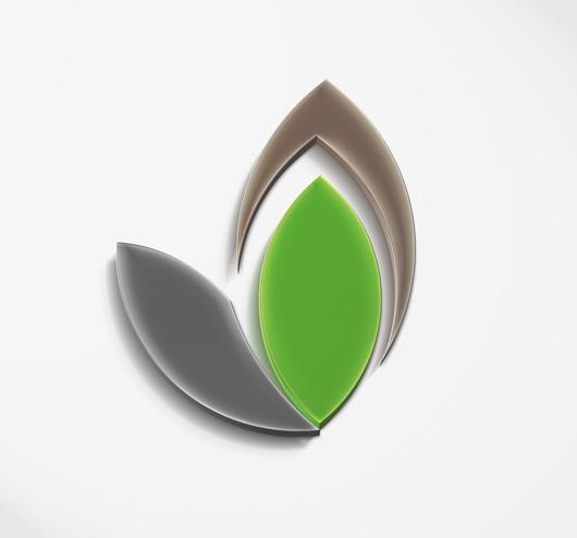 Logo Mockup perspective psd