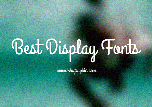 Best Display Fonts for Designers