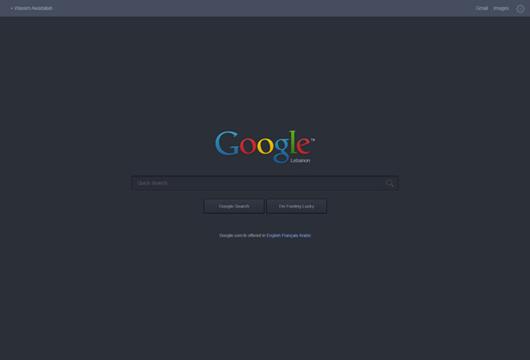 Google Website (Psd)