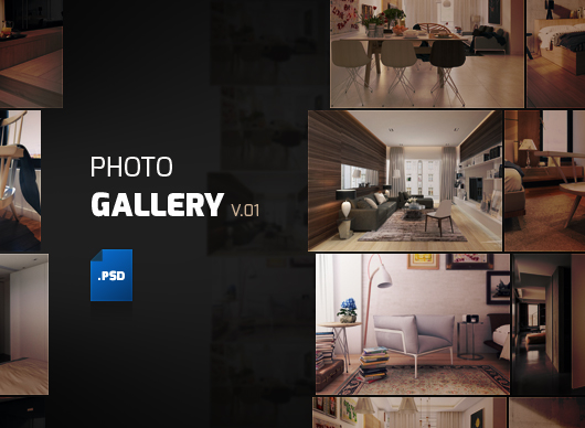 Album gallery template psd pronofoot35fo Choice Image
