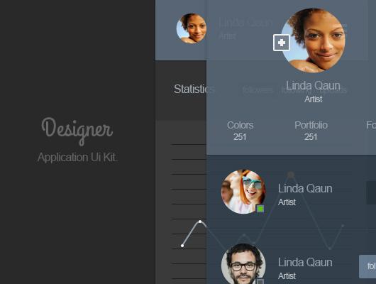 Portfolio App Design Ui - thumb