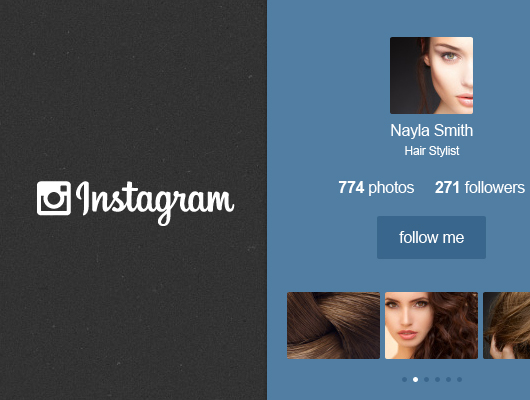 instagram widget - thumb