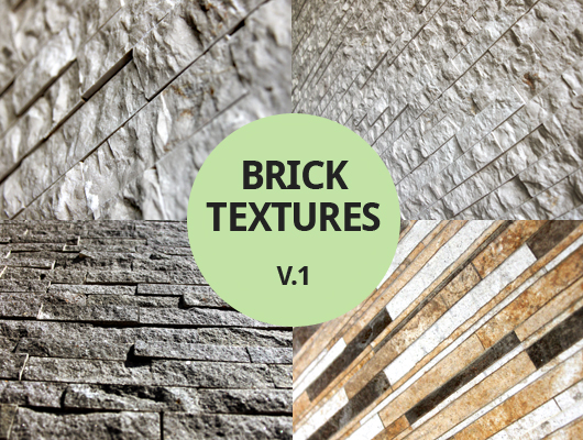 Perspective Brick Textures ~ Vol. 1