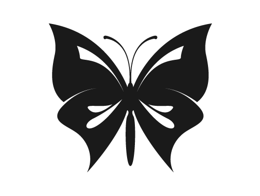Butterfly Ornament (Vector)